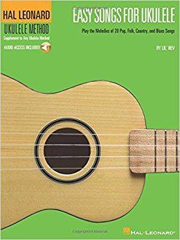 Easy Songs for Ukulele Hal Leonard Ukulele Method BKOnline audio