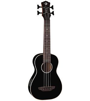 Luna Guitars Bass Ukulele - Black