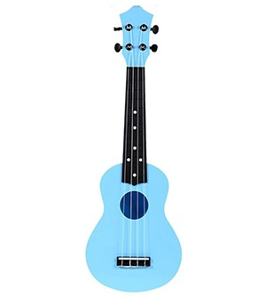 M Y Fly Young Toy Ukulele 21 Inch Soprano Plastic Hawaiian