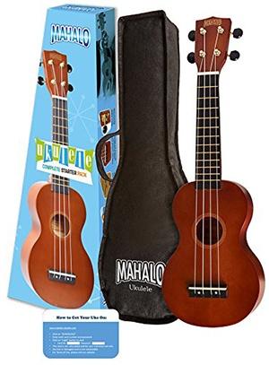 Mahalo Rainbow Series Soprano Ukulele Starter Pack
