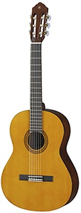 Yamaha CS40 II 78-Scale Nylon String Guitar - Natural